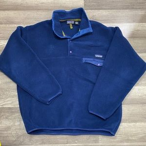 Patagonia Synchilla Fleece sweater 1/4 Snap-T L